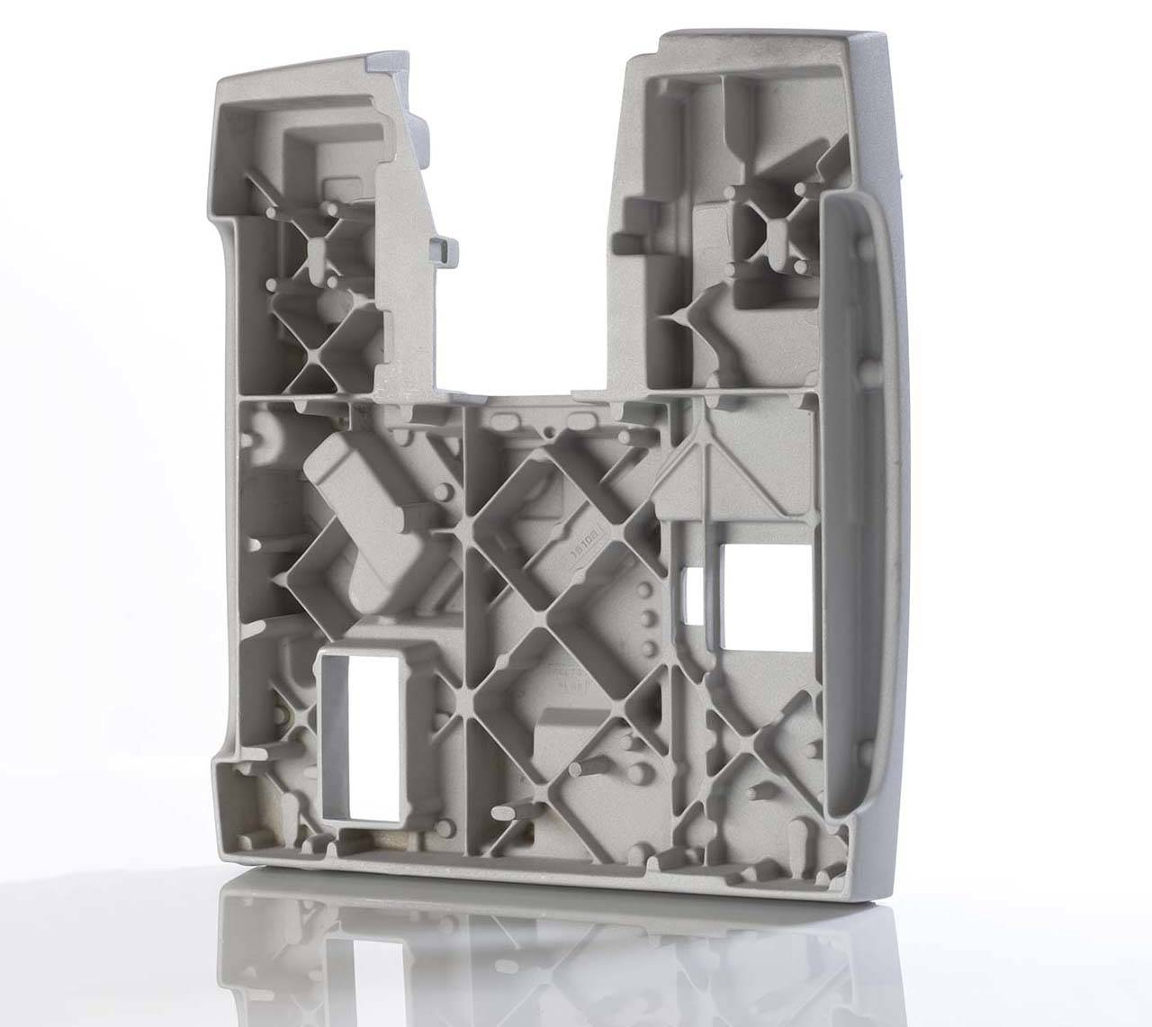 Analytical Instrument Base Gravity Die Cast Aluminium LM6 M 12.6 Kg 600mmx560mmx110mm