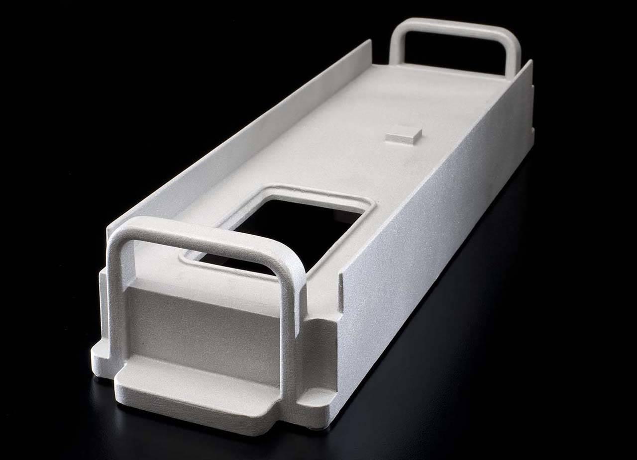 Electronics Rack Housing Precision Sand Cast Aluminium LM26 TB7 2.7 Kg 500mmx120mmx90mm